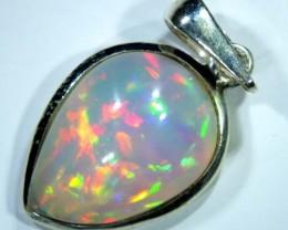 Silver Opal Pendants