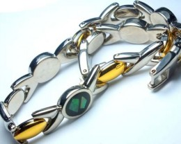 OPAL INLAY BRACELET  109.5 CTS OF-756