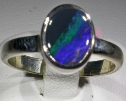 RING SIZE 8 SOLID OPAL FACTORY DIRECT [SOJ4731]