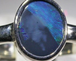 RING SIZE 8 SOLID OPAL FACTORY DIRECT [SOJ4736]