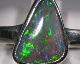 RING SIZE 8.5 SOLID OPAL FACTORY DIRECT [SOJ4740]
