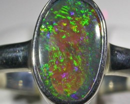 RING SIZE 8 SOLID OPAL FACTORY DIRECT [SOJ4739]