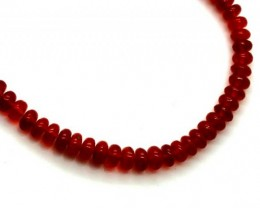 MEXICAN FIRE OPAL BEADS 18 CTS FOB-165