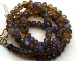 85 CTS BLACK OPAL BEADS  TBO-2887