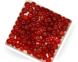 MEXICAN FIRE OPAL BEADS  25 CTS FOB-169