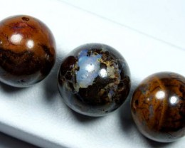 OPAL BEADS  3 PCS  DRILLED 41 CTS  LO-1323