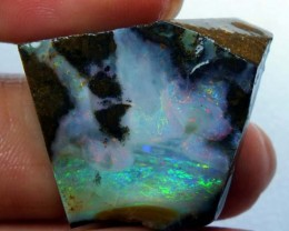 BOULDER OPAL ROUGH 61.40  CTS DT-3552