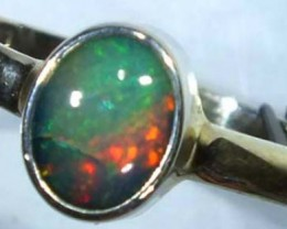 DOUBLET OPAL SILVER RING 10.7 CTS   OF-805