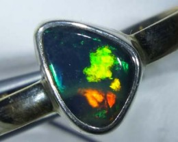 DOUBLET OPAL SILVER RING 11.5 CTS   OF-821
