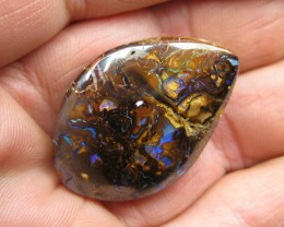 C/O 66cts,WE MINE = BOULDER MATRIX OPAL.