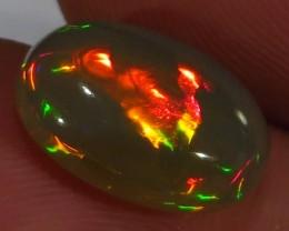 Ethiopian Welo Dark Polished Opal AAA 3.7cts #318