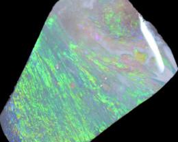 24.0 CTS FACED NEON  ROUGH -LIGHTNING RIDGE [BR2596]