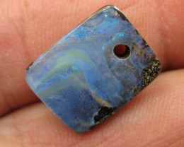 C/O 11cts,DRILLED WHOLESALE BOULDER OPAL.
