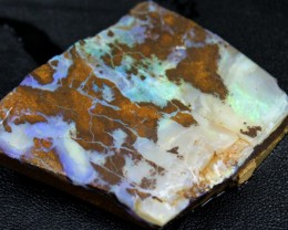 205.20 CTS BOULDER OPAL RUB FACED FOR EASY CUTTING