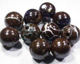 16.2 CTS BOULDER BEADS DRILLED[SO4119]