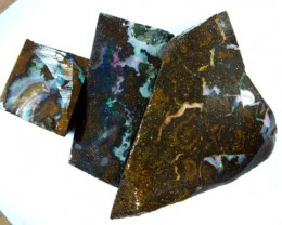 BOULDER OPAL ROUGH 171.5  CTS DT-3736