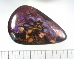 NATURAL SOLID BOULDER OPAL FREE SHIPPING R686