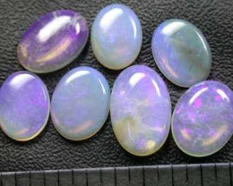 WHOLESALE PARCEL  7 CRYSTAL OPALS  L162