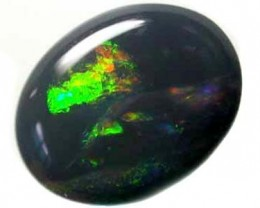 RICH GREEN FIRE BLACK OPAL 2.05 CTS  L200