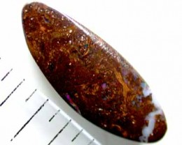 NATURAL BOULDER OPAL FIRE 3.90CTS FREE SHIPPING  L1006