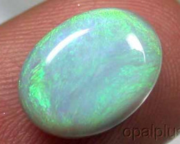 OP ELECTRIC GREEN FIRE BLACK OPAL 2.95 CTS RETAIL $1490 V16