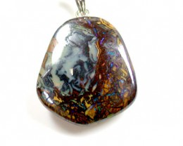 BEAUTIFUL KOROIT OPAL PENDANT 31.6 CARATS KO272
