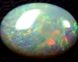 RARE SUNSET ORANGE FIRE CRYSTAL BOULDER OPAL 1.5 CTS QO618