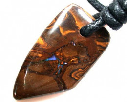 FREE SHIPPING BEAUTIFUL OPAL  BEAD PENDANT .50 CARATS  Q204