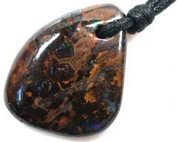 BEAUTIFUL  BOULDER OPAL PENDANT 48 CARATS  Q 254