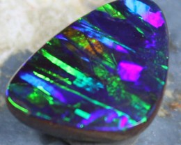 5.60 cts TOP BOULDER OPAL PATTERN ELECTRIC COLOR PLAY C7631