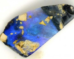 20 CTS BLACK OPAL ROUGH  TBO-3042