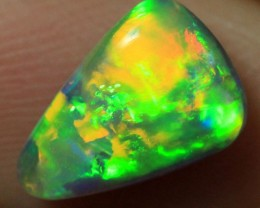 Lightning Ridge Solid Semi Black Opal Gem 1.4ct $1 no reserve auction!