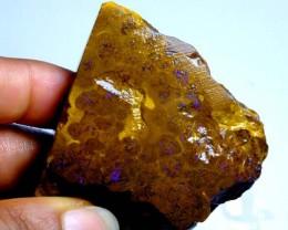 327cts Australian Boulder Opal Rough C78