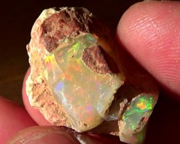18.50 cts Mexican PATCHWORK rough opal N7 3,5/5
