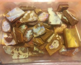 45 pieces 15 oz Boulder Opal Rubs