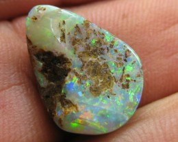 C/O 7cts,LOVELY BRIGHT BOULDER OPAL.