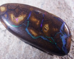 44.8CTS BOULDER OPAL WITH  COLOURFUL VEINS  [SO4361]