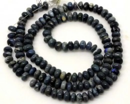 BLACK OPAL BEADS 50  CTS  TBO-3060