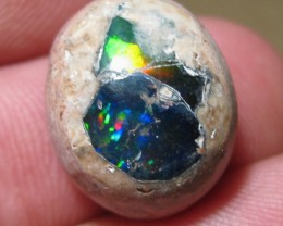 OpalWeb - Gemmy Mexican Opal Doublet- 14.85Cts.