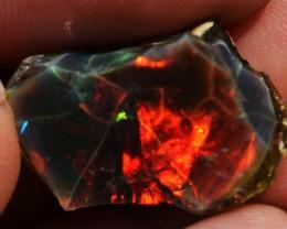 18ct Quality Rough Ethiopian Wello Opal Specimen / 5/5 Colours