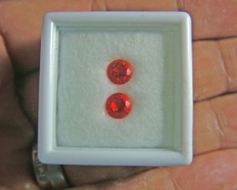 VVS mexican opal pair 0.59 carats ANA 1110