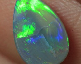 Lightning Ridge Solid Semi Black Opal Stone 1.1ct