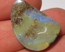 YowahOpals*25.7Cts - Drilled - Winton Boulder Opal.