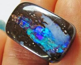 12.4CTS Boulder Opal  FREE SHIP  AGR808