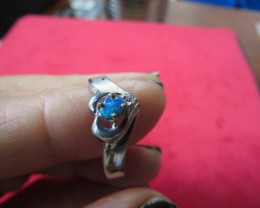 Doublet opal ring Size 8.5    AGR 733