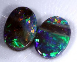 2PCS BOULDER OPAL POLISHED 1.30CTS INV-205