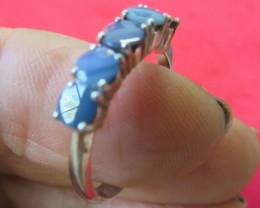 cluster Doublet opal ring Size8    AGR 748
