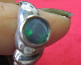 Doublet opal ring Size 6.5   AGR 745