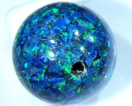 MOSAIC OPAL BEAD DRILLED 19.75 CTS  LO-1601