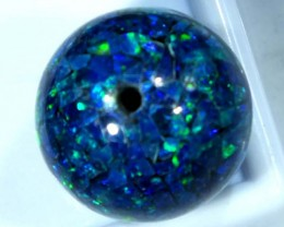 MOSAIC OPAL BEAD  DRILLED 19.45 CTS  LO-1607